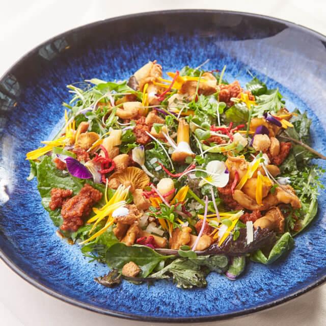 Caesar Salat im Gasthaus Pflegerbruecke in Grödig bei Salzburg