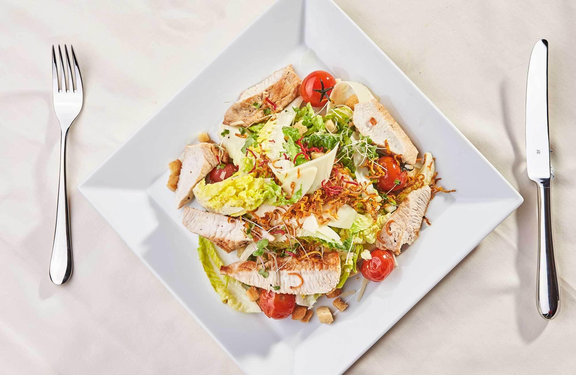 Fitness Salat im Gasthaus Pflegerbruecke in Grödig bei Salzburg
