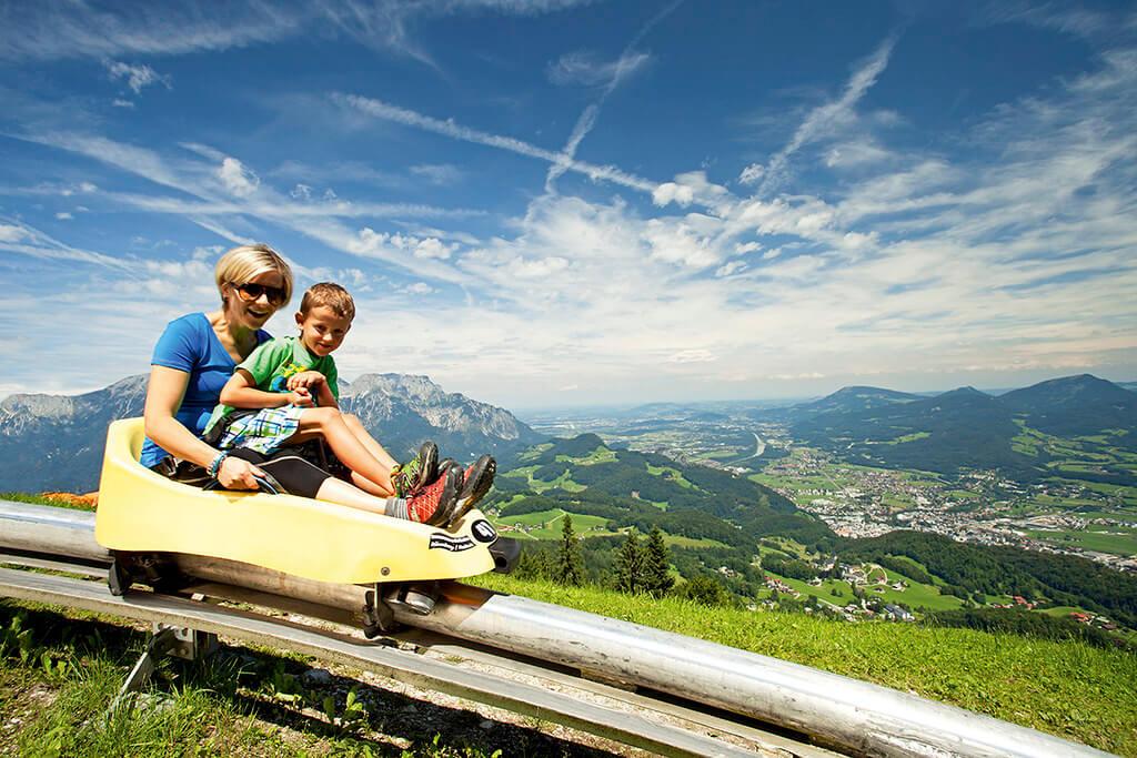 Keltenblitz | Sommerrodelbahn | Bad Dürnberg, Ausflug Familie, Kinder, Spaß, Ausflugsziel von Pflegerbrücke Salzburg