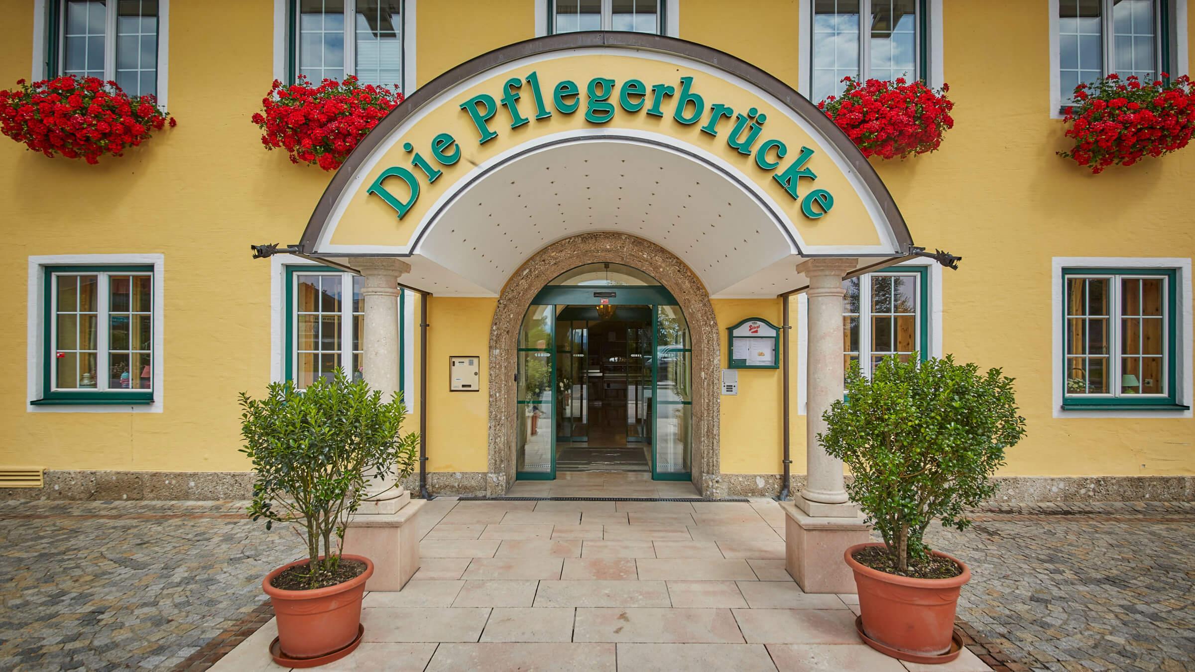 Gasthof Pflegerbrücke in Grödig bei Salzburg